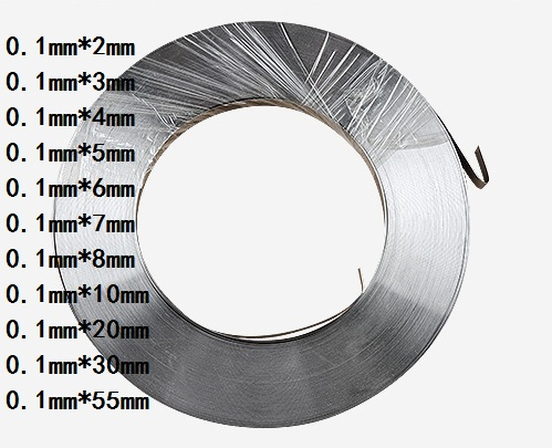 1kg 0.1mm * 8mm Pure Nickel Plate Strap Strip Sheets 99.96% pure nickel for Battery electrode electrode Spot Welding Machine 1kg 0 15 x 8mm high pure nickel plate strap strip sheets 99 96