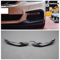 OLOTDI Car Styling Carbon Fiber / ABS MP Style Front Bumper Corner Protector For BMW G30 G31 2PCS/SET 2017UP|Bumpers| |  -