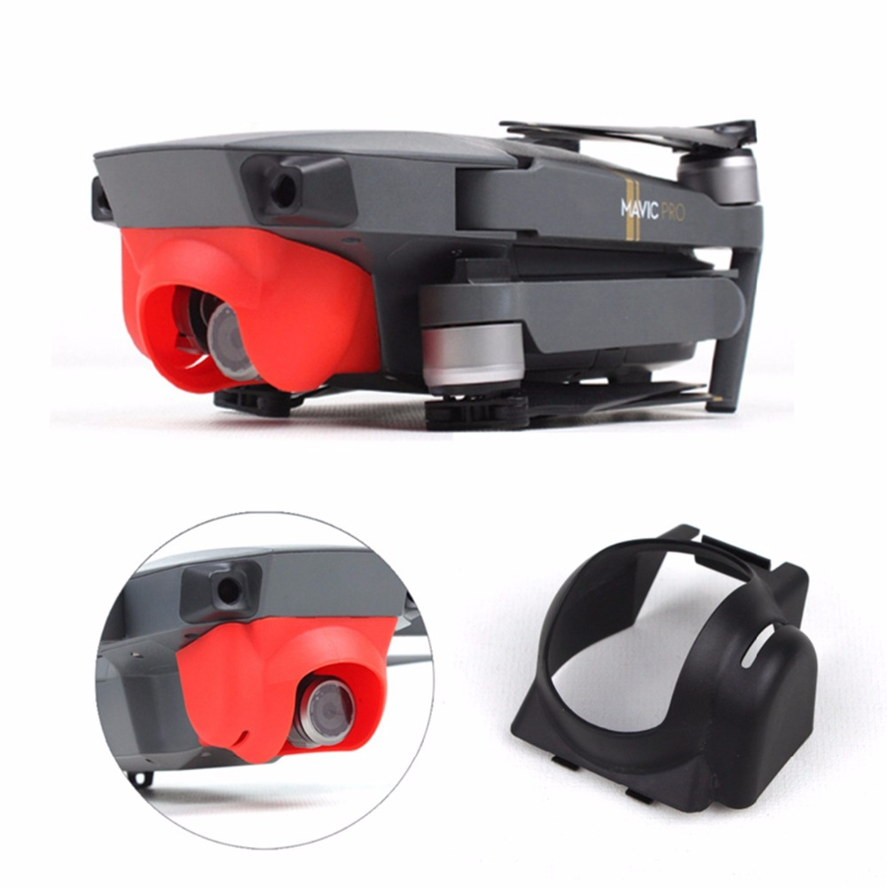 Lens Hood Camera Sun Shade Anti-Glare Camera Gimbal Protector Cover Cap For DJI Mavic Pro Platinum Drone Camera Shield Parts