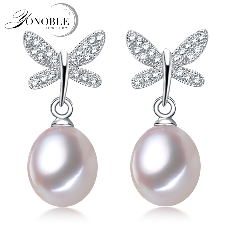Real Freshwater pearl earrings...