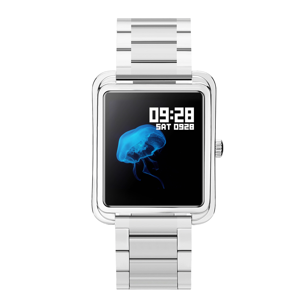 iradish smartwatch bluetooth waterproof fitness high quality mens gift present smart watch stainless wrist