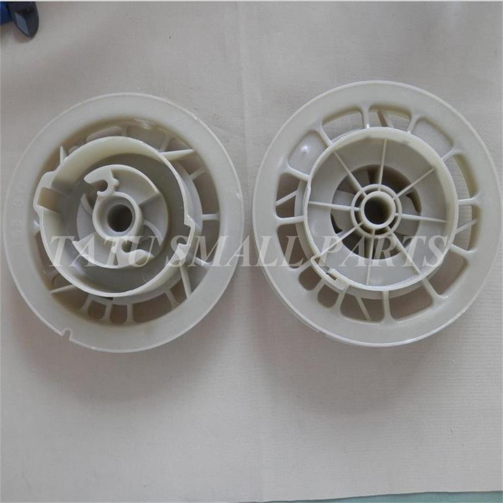 2 X ONLY PLASTIC RECOIL STARTER PULLEY  FOR HONDA GX120 GX160 GX200 168F BRUSHCUTTER STRIMMER PULL START ASSEMBLY PARTS2 X ONLY PLASTIC RECOIL STARTER PULLEY  FOR HONDA GX120 GX160 GX200 168F BRUSHCUTTER STRIMMER PULL START ASSEMBLY PARTS