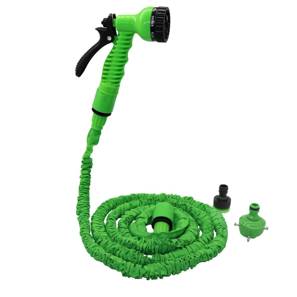 Home & Garden Garden Cleaning Water Gun With 2.5m Retractable Spring Hose Connector Set