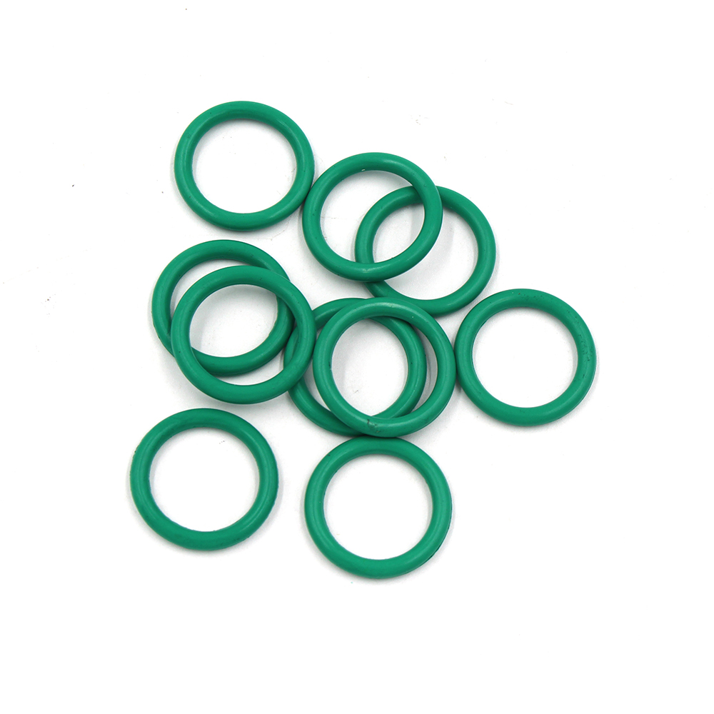 PCP Paintball Fluoro Replacements Sealing Rubber O-rings Green Gasket Durable Socket M18x1.5 Tank Air Filling Valve 20PCS/1SET