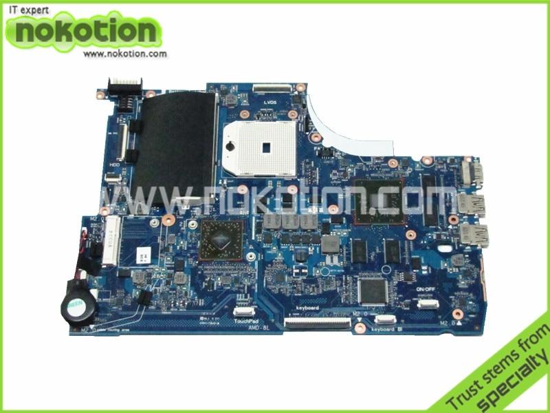 NOKOTION 720578-001 Latop Motherboard For HP ENVY 15Z-J100 15-J 15-J009WM 6050A2555101-MB-A02 Radeon HD 8550G DDR3 Main Board 4h 0kf02 a02 power board