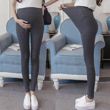 7fab698055085 Plus Size Maternity Leggings Pants For Pregnant Women Black Autumn Winter  Warm Trousers Clothing Pregnancy Clothes ropa premama