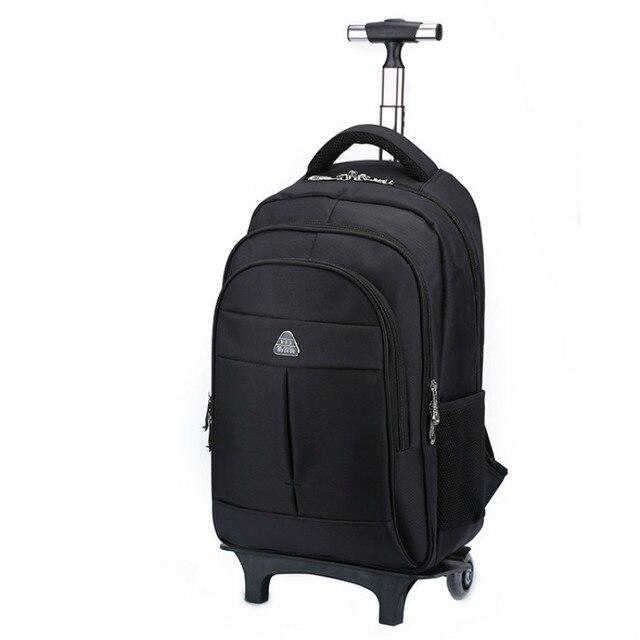 a6e04dfe5a58 BERAGHINI Men s Bag for Business Trip Pull Rod Bags Large Capacity Wheel  Backpack Travel Duffle High