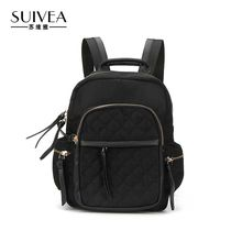 Suivea бренд дамы рюкзак сплошной элегантный дизайн для роскошных 2017 Высокое качество PU Материал мода путешествия сумки рюкзак