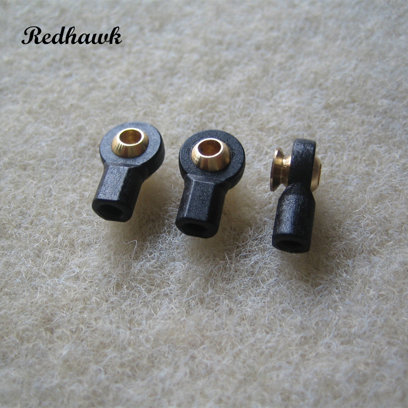 50pcs lot M3 Short Type Hexagon Ball Linkage with Washer rc airplane boat car ball linkage