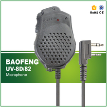 Original Portable Baofeng Speaker Mic Microphone Dual PTT for Two Way Radio UV-82 UV-82Plus Walkie Talkie