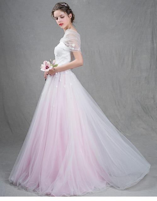 free shipping pastel vestido de festa longo ball gown prom dresses ...