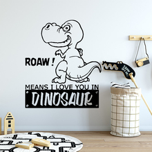 Diy dinosaur Removable Art Vinyl Wall Stickers Mural Wallpaper Decoration Murals adesivo de parede