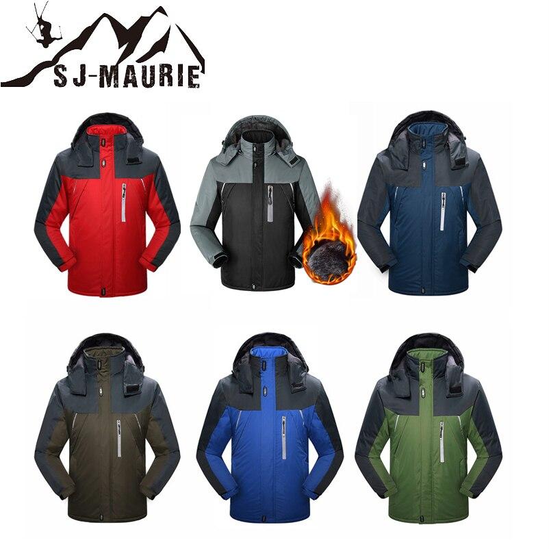 SJ-MAURIE chaud Super chaud hiver Snowboard Camouflage veste Ski hommes ensemble Ski costume pantalon fort imperméable coupe-vent veste de Ski
