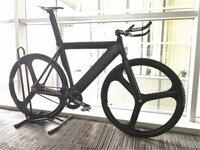 Fixed Gear Bike 54cm Single Speed Bike Smooth Welding Frame DIY Color Aluminum Alloy Customize Track