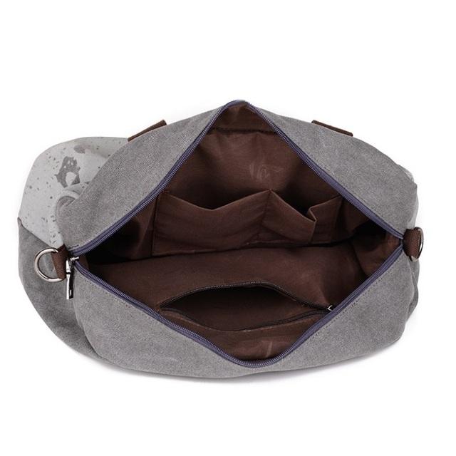 Canvas Letter Printing Handbags Tote Shopping Bag Shoulder Bags Women Outdoor Sports Gym Fitness Bag Travel Duffel Bolsa XA319YL