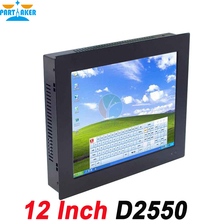 All in One Computer Mini Terminal 12 Inch Five wire Gtouch using high-temperature Ultra Thin Panel with 4G RAM 64G SSD
