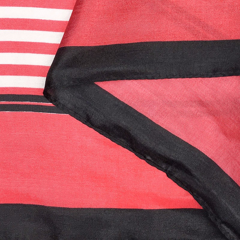 Small Silk Scarf Stripes | Lightweight Scarves | Up to 60% Off Now