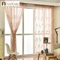 1 шт.  тюлевые шторы с вышивкой и перьями  готовые драпировки для гостиной  домашний текстиль  декор на окна