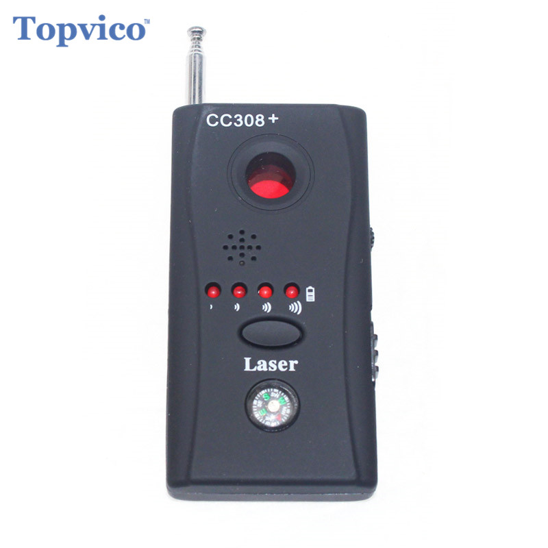 Full Range Anti-Spy Bug Detector Mini Camera RF Hidden Spy Signal Detector GSM Device Finder Privacy Security Dropshipping