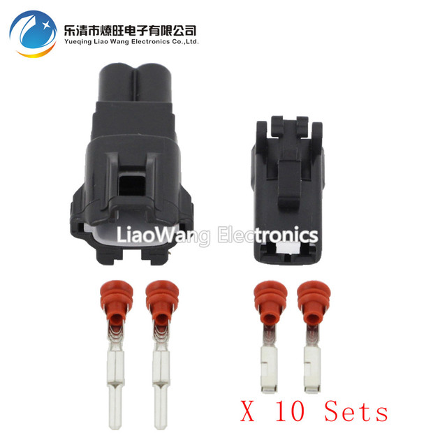 10sets 2 pin female and male auto waterproof electrical wiring rh aliexpress com