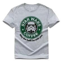 Storm Trooper Star Wars s Cotton Free shipping  Harajuku Tops Fashion Classic цена