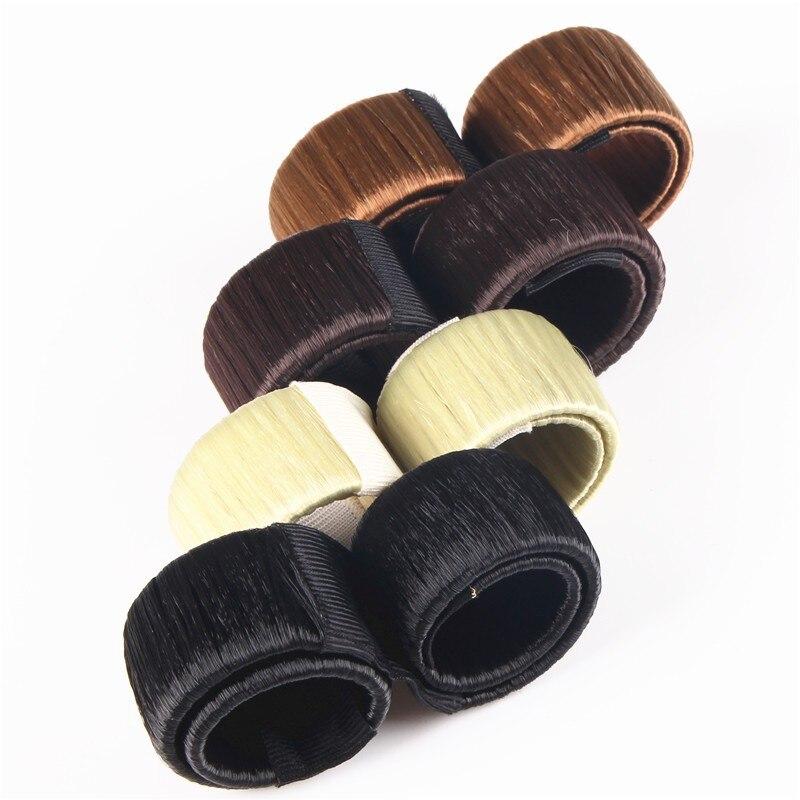 Jewelry & Accessories New Novelty Hair Band Hairgrip Magic Ponytail Hair Device European Bun 4f4001