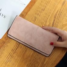 Vrouwen Portemonnee Lange Modemerk Lederen Portemonnee Vrouwen Clutch Dames Vrouwelijke Mini Tas Voor Vrouwen Geld Clip Kaarten Tas Voor vrouwen 2018