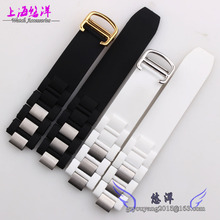 Waterproof silicone rubber strap Male 20 10 mm protruding opening for the 21st century