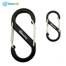 2PCS Camping And Hiking Climbing Carabiner Tourist S&L Tent Hook Outdoor Multifunctional Walking Hanging Backpack Buckle Hanger