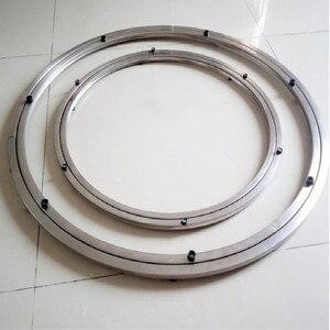 Image 4 - 스테인레스 스틸 tabla giratoria 회전베이스 스탠드 회전판베이스 giratoria 리프트 테이블 회전 테이블 직경 38 50 cm
