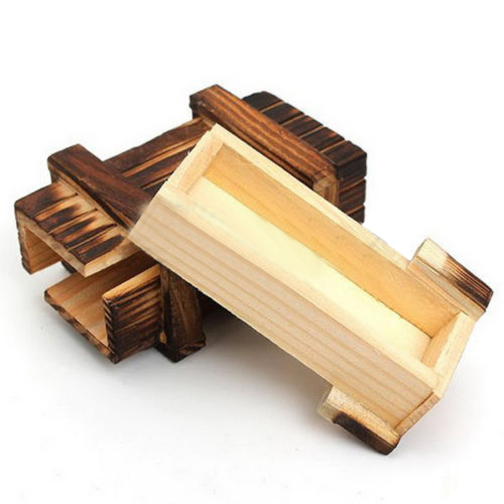 Magic Wooden Toy Magic Puzzle Box Kids Secret Box Creative Puzzle Wooden Secret Trick Fun Toys for Kids Boy Girl Birthday Gift