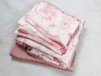 100 Mulberry Silk Bedding Set 19 Mm King Queen Size Printed Seam A Soild Seamless B