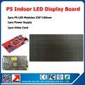 320 * 160 мм 64 * 32 пикселей 1/16 сканирования в помещении SMD 3in1 RGB полноцветный P5 крытый из светодиодов экран 2 шт. P5 из светодиодов жк-модули 1 контроллер
