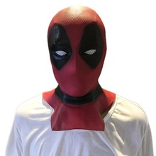 Deadpool Masque latex Masks Halloween Costume Movie Cosplay mask Adults Party props