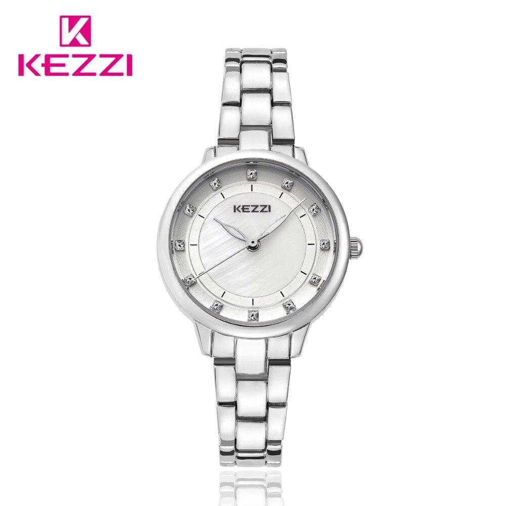 KEZZI Luxury Brand Watches  Women's Fashion Bracelet Watches Waterproof Rhinestone Lady Dress Wristwatches Quartz Clocks. kimio famons brand women watches fashion diamond wristwatches lady dress wristwatches quartz women s bracelet watches clocks