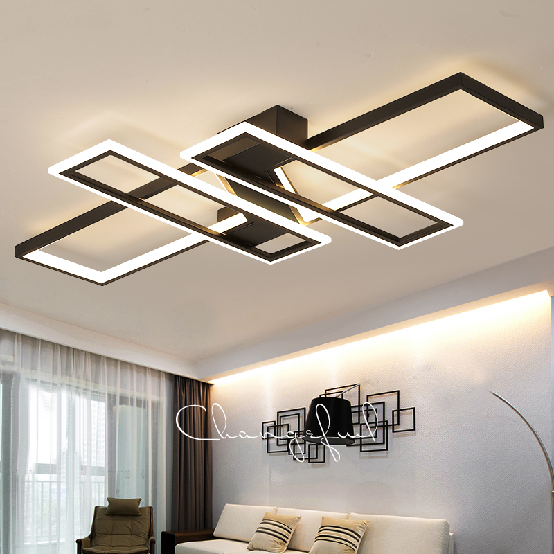 New Arrival Modern led ceiling chandelier lights for living room bedroom dining Study room Aluminum led