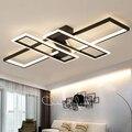 Новое поступление Современные светодиодные потолочные люстры-светильники для гостиной, спальни, столовой, кабинета, алюминиевые светодиод...
