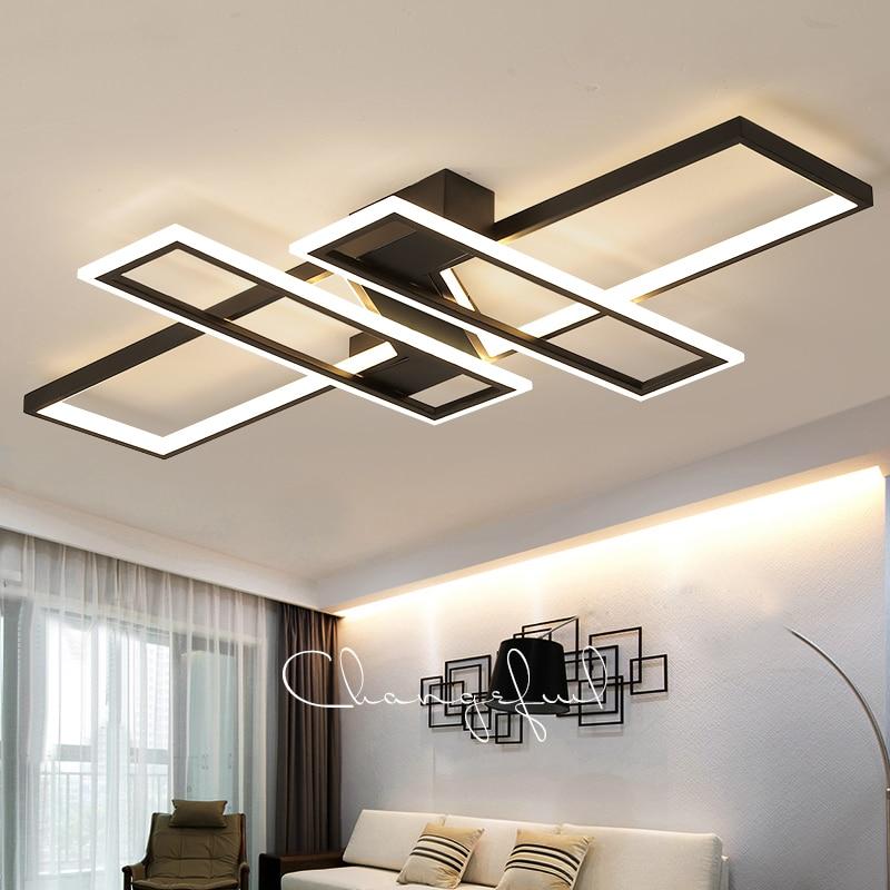 Nuovo Arrivo Moderno led lampadario a bracci del soffitto per camera da letto soggiorno sala da pranzo sala Studio di Alluminio ha condotto la lampada Lampadario apparecchi di