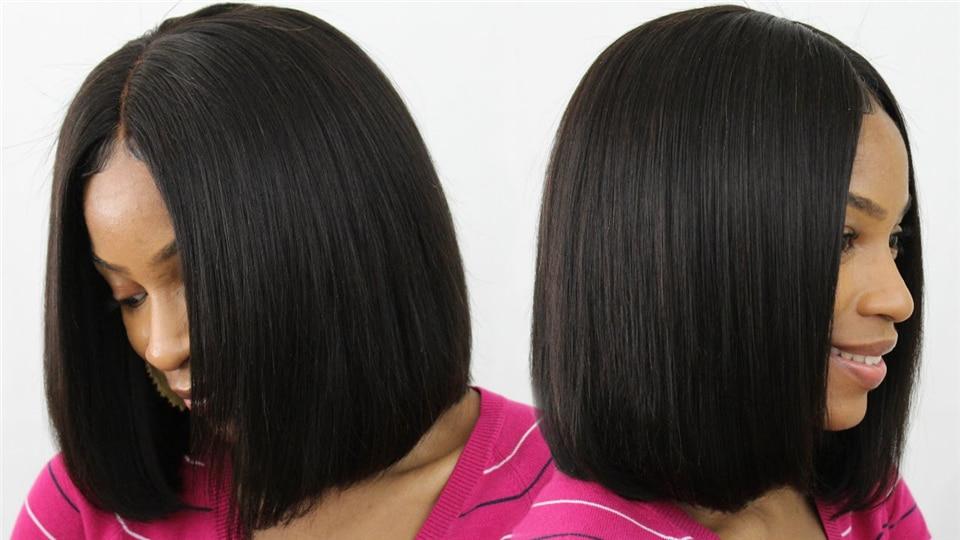 short bob lace front wigs (2)