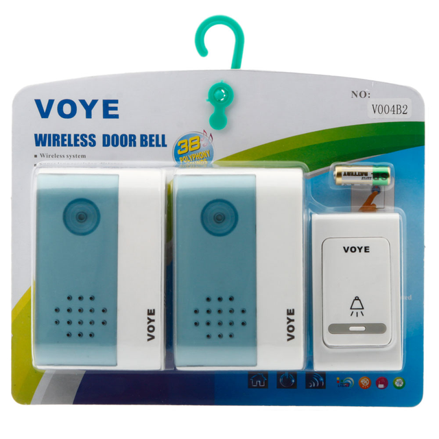 Aliexpress.com : Buy New VOYE Digital Wireless Door Bell 1 Remote ...