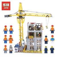 Лепин 15031 4425 шт. натуральная MOC серии классический строительный сайт модель здания Конструкторы LegoINGlys кирпичики игрушки подарок