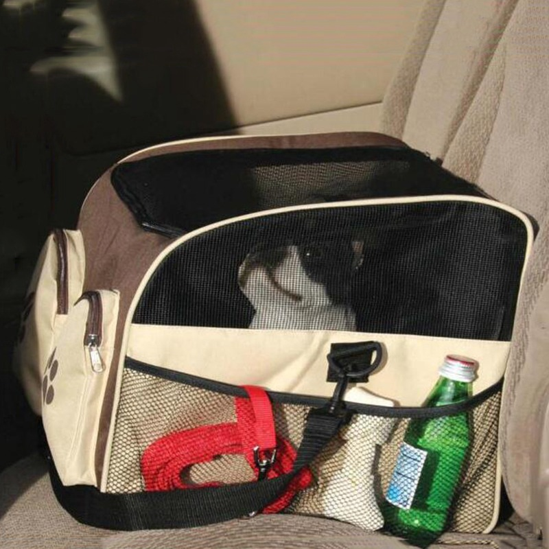 pet carrier cat dog carrier puppy cat travel carrying bag tote outside car seat carrier dog bag. Black Bedroom Furniture Sets. Home Design Ideas