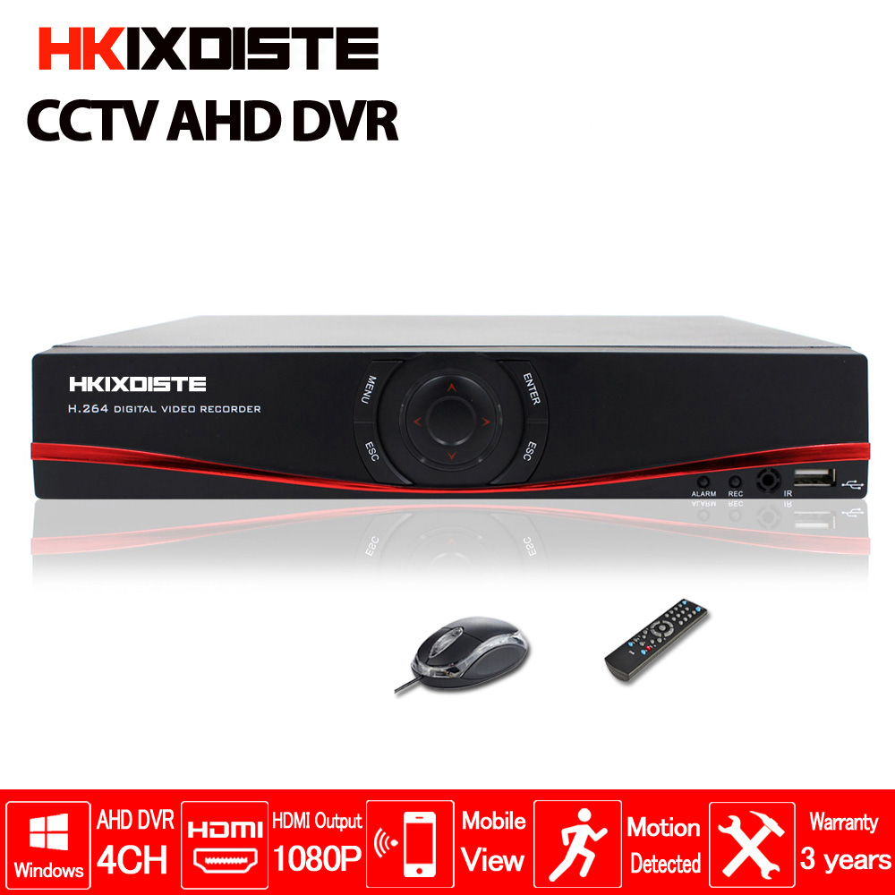 Multifunctional 4CH 1080N TVI.CVI .AHD-NH 5 In1 Hybrid DVR/1080P NVR Video Recorder AHD DVR For AHD/Analog Camera IP Camera multifunctional ahd 1080n dvr hybrid