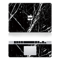 "Hot Laptop Black Marble Grain Skin Top+Keyboard Rest Vinyl Decal Sticker For Macbook Air 11""13"" Retina Pro 13""15""New Mac12"