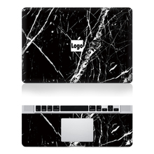 Hot Laptop Black Marble Grain Skin Top+Keyboard Rest Vinyl Decal Sticker For Macbook Air 11″13″ Retina Pro 13″15″New Mac12