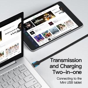 Image 4 - Vention Mini USB kablosu USB Mini usb hızlı şarj kablosu için dijital kamera HDD MP3 MP4 oynatıcı tabletler GPS
