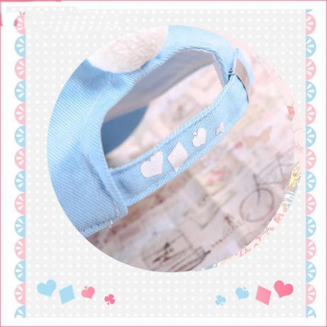 Anime Alice au pays des merveilles lapin blanc Snapback casquette de Baseball chapeau costume