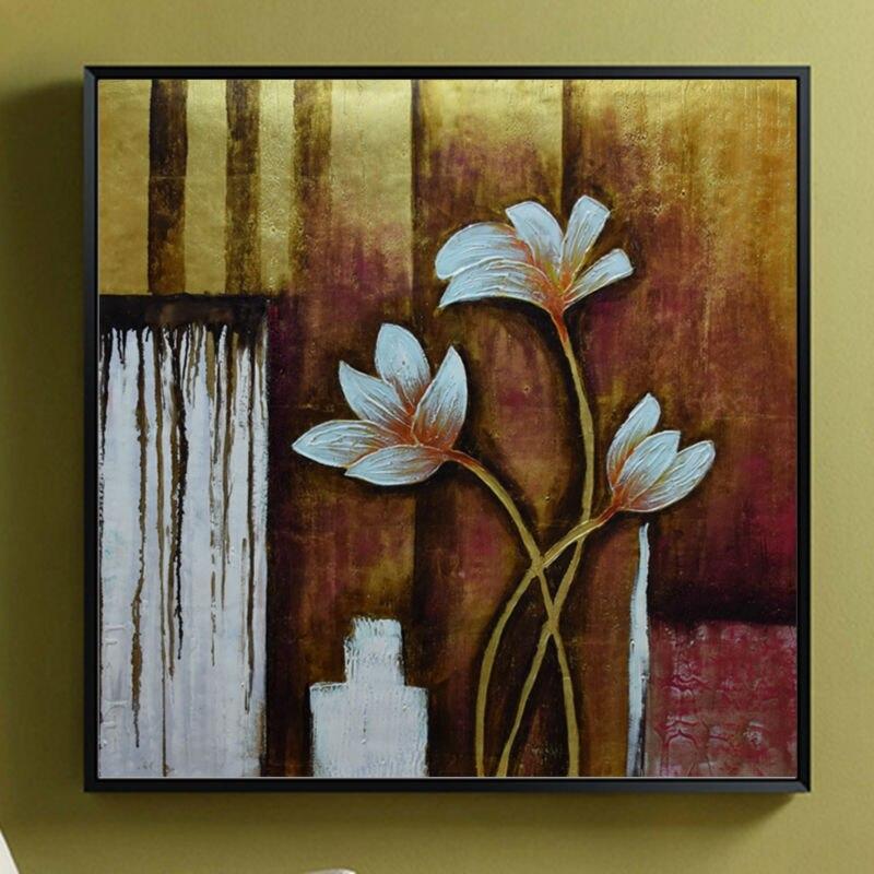 Современные художественные картины абстрактный цветок Экспрессия Виллем Haenraets масло на холсте Ручная роспись высокое качество настенные ф... - 5