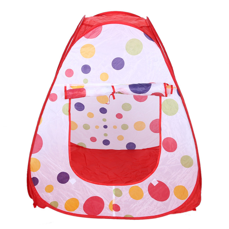 Large Portable Children Kids Pop Up Adventure Ocean Ball Play Tent House Tunnel Set Indoor Outdoor Garden Playhouse Kids Tent magideal portable kids children baby play house indoor outdoor pop up tent toy for home party garden park picnic beach camping