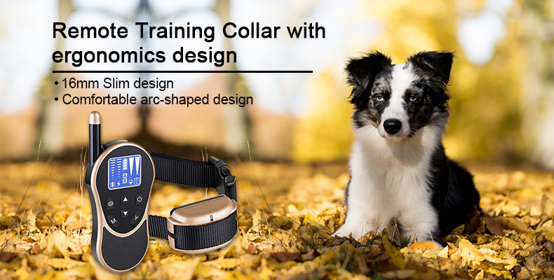 600M Remote Dog Training anti bark Collar